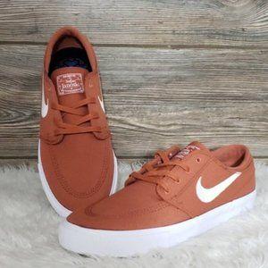 New Nike SB Zoom Janoski Canvas RM Brown Sneakers